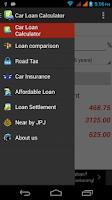 Screenshot of Car Loan Calculator (Malaysia)