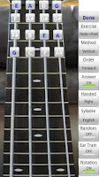 Screenshot of Bass Fretboard Addict FREE