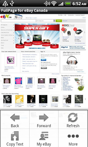FullPage for ebay Canada