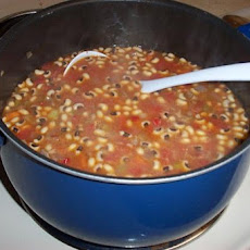 Beef and Black-Eyed Pea Soup