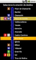 Screenshot of Nighttime Metro Madrid