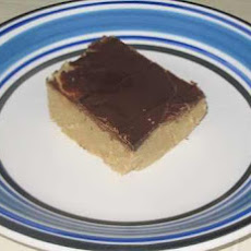 Old School-Deja Vu Chocolate Peanut Butter Squares