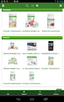 Screenshot of Herbalife Online Store