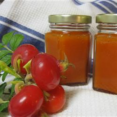 Quick Rose Hip Jam