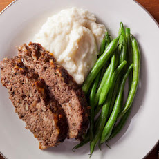 Mushroom and Red Wine Meatloaf Recipe