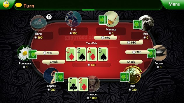 Best free poker android app