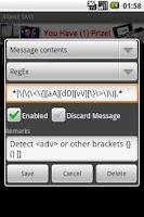 Screenshot of Silent SMS