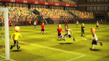 Screenshot of Striker Soccer Euro 2012 Pro