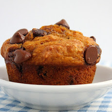 Pumpkin- Chocolate Chip Muffins