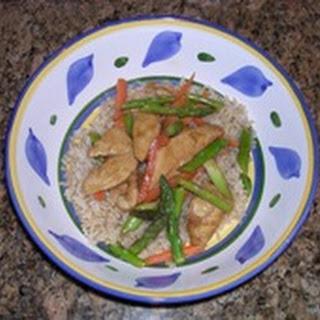 Healthy Satay Chicken Stir Fry Recipes