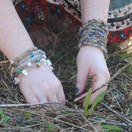 Reforestation Planting by Anna Molly - News & Events Science ( hands, reforestation, trees, planting, sapling )