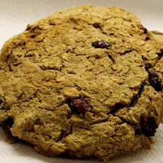 Pumpkin Cranberry Breakfast Cookies