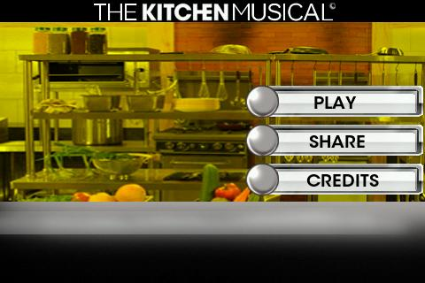 The Kitchen Musical - The Game
