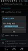 Screenshot of ROM Manager (Premium)