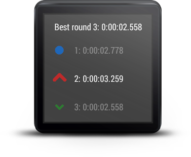 Stopwatch For Android Wear - screenshot