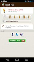 Screenshot of Pintley Beer Recommendations