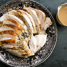 Roast Turkey Breast with Roasted Garlic Gravy