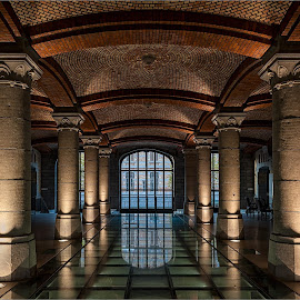 Tour & Taxis Brussels by Helsen Eddy - Buildings & Architecture Other Interior