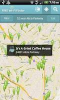Screenshot of Free WiFi Finder