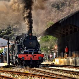 by Antonio Amen - Transportation Trains