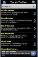 Screenshot of Yemek Tarifi