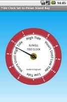 Screenshot of Elfmill Tide Clock