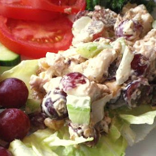Famous Chicken Salad with Grapes