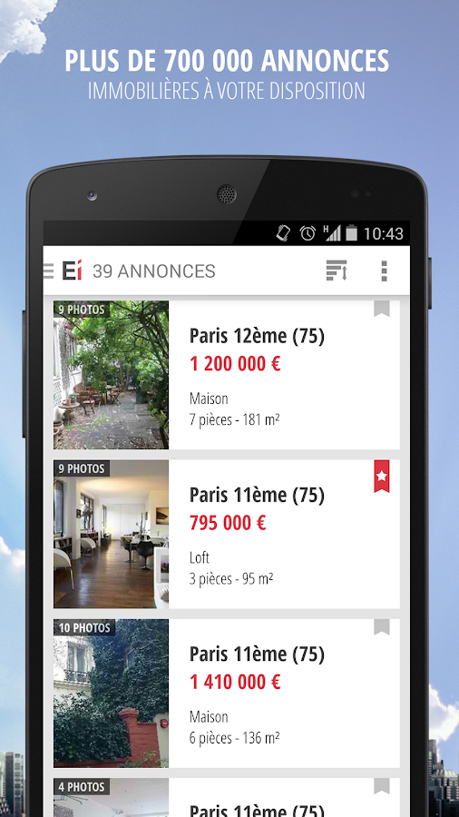 Explorimmo – Immobilier Screenshot