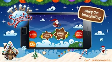 Screenshot of Tiny Santa - Xmas Hills