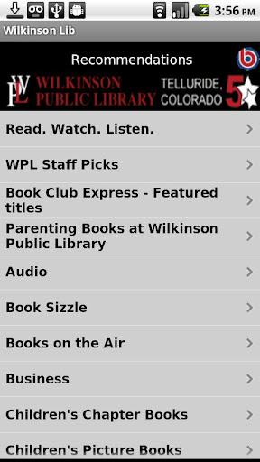 【免費教育App】Wilkinson Public Library-APP點子