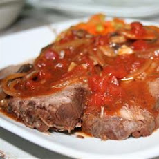 Beef Roast in Red Wine (Carni Arrosto al Vino Rosso)