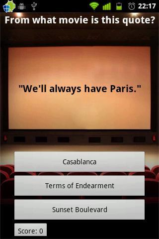 The Movie Trivia