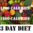 1300 and 1800 Calories Diets icon