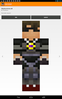 Screenshot of Minecraft Skin Studio