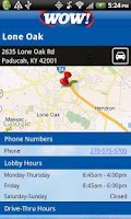 Screenshot of Paducah Bank Mobile