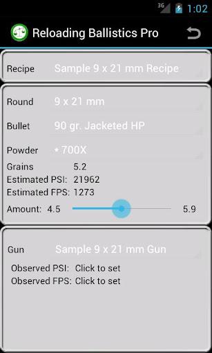 9x21mm Ballistics Data