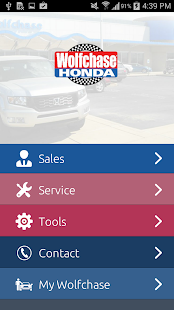 Wolfchase Honda - screenshot