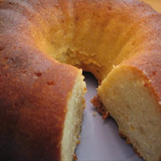 Lemon-Soaked Ginger Pound Cake
