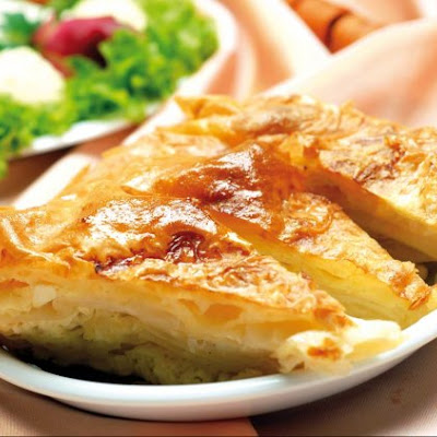 Quick Cheese Pie with Pastry Phyllo