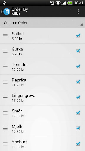 Shopping List Pro - screenshot