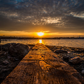walk the plank by Lance Reha - Landscapes Sunsets & Sunrises