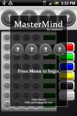 MasterMind for Android FREE