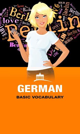 GERMAN Basic Vocabulary