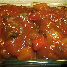 Meatloaf W/ Sweet and Sour Sauce