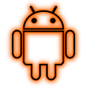 GloWorks Orange ADW Theme icon