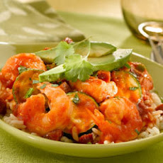 Saucy Shrimp & Chorizo Saute