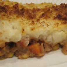 Veggie Burger Shepherd's Pie