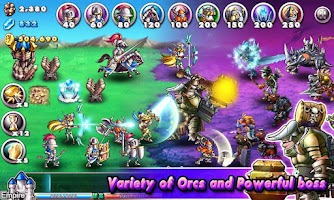 Screenshot of Empire VS Orcs