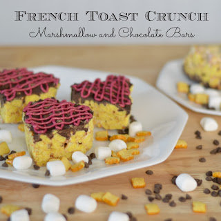 French Toast Crunch Chocolate and Marshmallow Bars