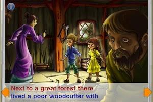 Screenshot of Hansel and Gretel StoryChimes